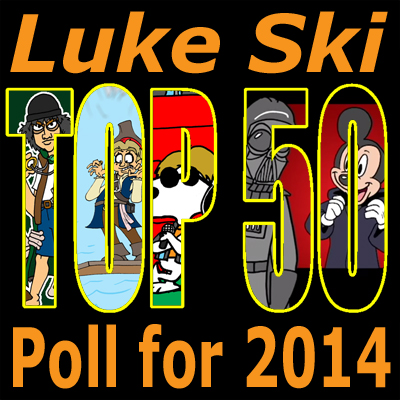 Luke SKi Top 50 Poll for 2014 400