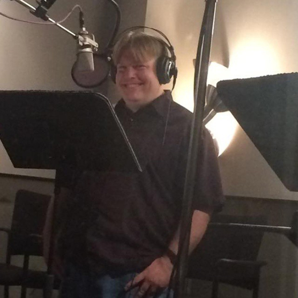 Mighty Magiswords voice over session with Luke 600